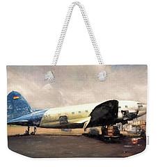 Bolivian Air Weekender Tote Bag by Michael Cleere