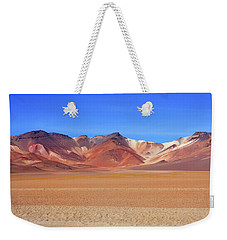 Weekender Tote Bag featuring the photograph Bolivian Altiplano  by Aidan Moran