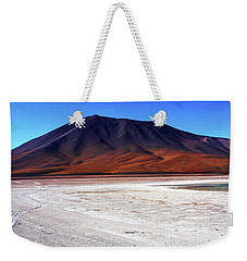 Weekender Tote Bag featuring the photograph Bolivian Altiplano, South America by Aidan Moran