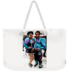 Bolivian Couple Dancers Weekender Tote Bag