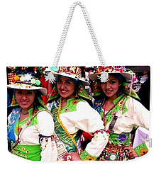 Bolivian University Student Dancers 1 Weekender Tote Bag