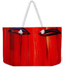 Bollywood Eyes Weekender Tote Bag