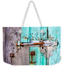 Bolted Door Weekender Tote Bag