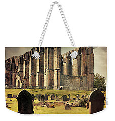 Bolton Abbey In The Uk Weekender Tote Bag by Jaroslaw Blaminsky