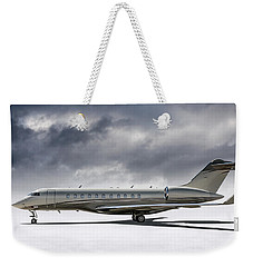 Bombardier Global 5000 Weekender Tote Bag