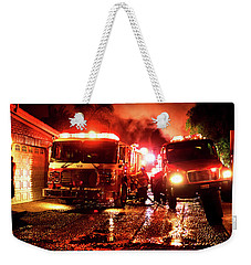 Bomberos, Punta Bandera Weekender Tote Bag by Hugh Smith