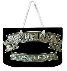 Bon Jovi New Jersey Weekender Tote Bag