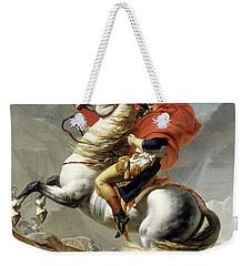 Bonaparte Crossing The Alps Weekender Tote Bag