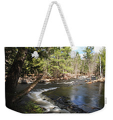 Upper Bond Falls No.7965 Weekender Tote Bag