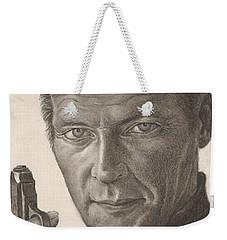 Bond Portrait Weekender Tote Bag