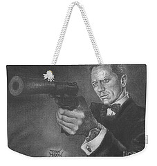 Bond Portrait Number 3 Weekender Tote Bag