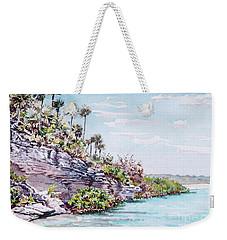 Bonefish Creek Watercolour Study Weekender Tote Bag