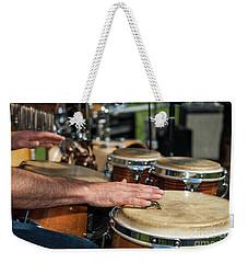 Bongo Hand Drums Weekender Tote Bag