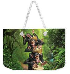 Bongo In The Jungle Weekender Tote Bag