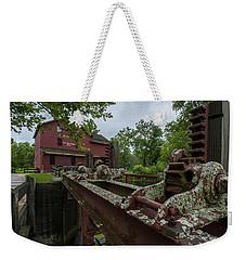 Bonneyville Mills Gears Weekender Tote Bag