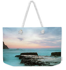 Weekender Tote Bag featuring the photograph Bonny Doon by Catherine Lau