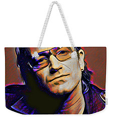 Bono Weekender Tote Bag by Gary Grayson