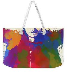 Bono Watercolor Weekender Tote Bag