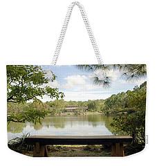 Bonsai Lake Weekender Tote Bag