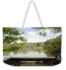 Bonsai Lake Weekender Tote Bag