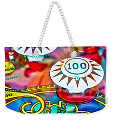 Bonus Points - Pinball Weekender Tote Bag
