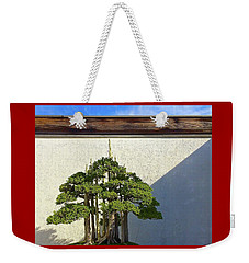 Weekender Tote Bag featuring the photograph Bonzai Forest by Brenda Pressnall