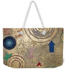 Weekender Tote Bag featuring the painting Boogie 3 by Bernard Goodman