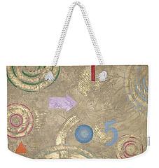 Weekender Tote Bag featuring the painting Boogie 5 by Bernard Goodman