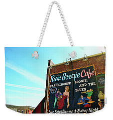 Boogie And Blues Weekender Tote Bag by JAMART Photography