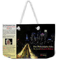 Book Cover Weekender Tote Bag