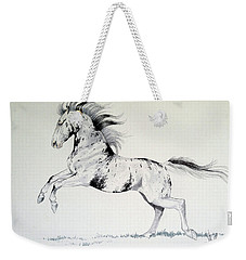 Loud Appaloosa Weekender Tote Bag