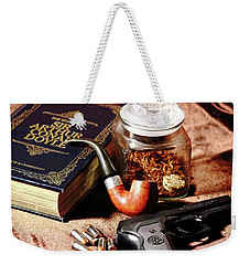 Books And Bullets Weekender Tote Bag
