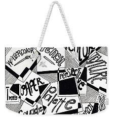 Books And Words Weekender Tote Bag