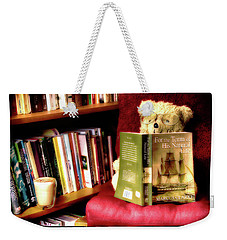 Bookworm Ted Weekender Tote Bag