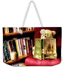 Bookworm Ted Weekender Tote Bag