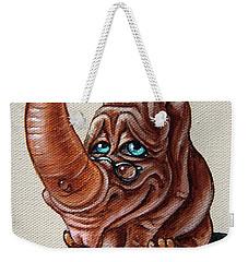 Bookworm Weekender Tote Bag