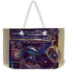 Boom Box Weekender Tote Bag