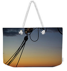 Boom Over The Water Weekender Tote Bag