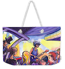 Boombox At The Barkley Weekender Tote Bag