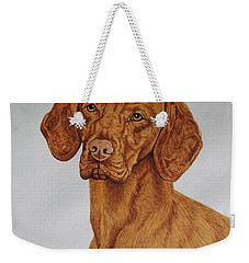 Boomer The Vizsla Weekender Tote Bag