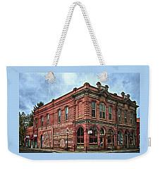 Boomtown Saloon Jacksonville Oregon Weekender Tote Bag