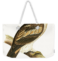 Booted Eagle Weekender Tote Bag by English School