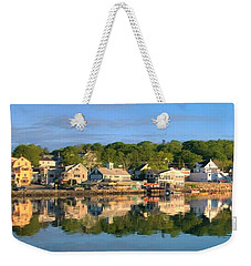Booth Bay Reflections Weekender Tote Bag