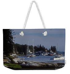 Boothbay Harbor In Maine Weekender Tote Bag