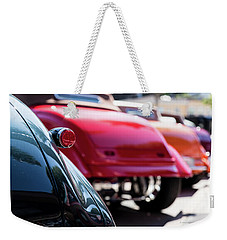 Boots Of Colorful Cars Weekender Tote Bag