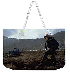 Boots On The Ground Weekender Tote Bag