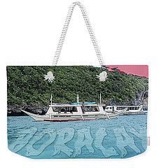Weekender Tote Bag featuring the photograph Boracay, Philippines by Timothy Lowry
