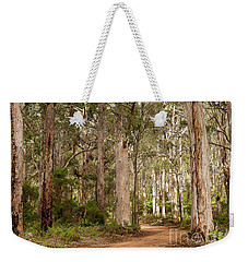 Weekender Tote Bag featuring the photograph Boranup Drive Karri Trees by Ivy Ho