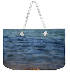 Weekender Tote Bag featuring the photograph Borax Lake by Cat Connor