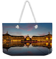 Bordeaux Reflections Weekender Tote Bag